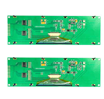 5.5 inch 16PIN Green or Yellow OLED Screen module SSD1322 Driver 256*64 8Bit Parallel SPI serial Interface 3/4-wire serial port