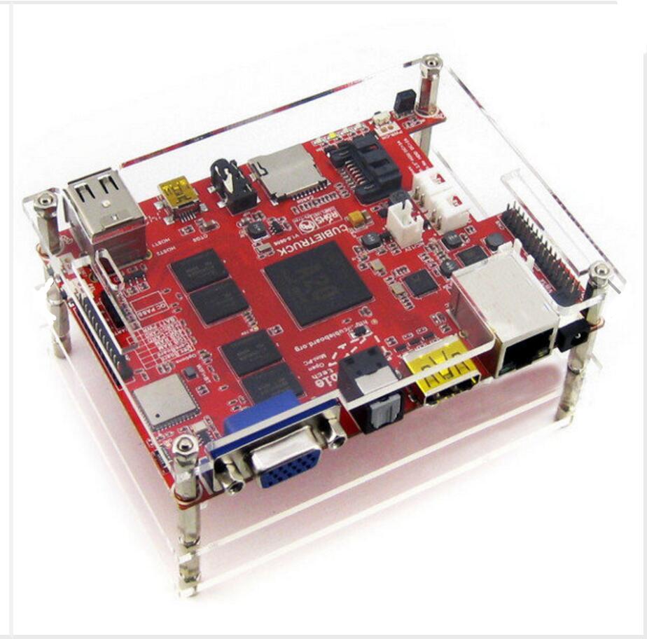 DuoWeiSi 3D Printer parts Cubieboard3 A20 Dual Core Development Board Cubietruck Kit xilinx fpga development board xilinx spartan 3e xc3s250e evaluation board kit lcd1602 lcd12864 12 modules open3s250e package b