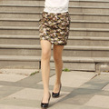 2016 new spring and summer western fashion slim personality  elastic high waist skirt  short skirt Pencil Skirt