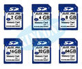 factory wholesale memory SDHC card  SD card 32gb class 10 128/256/512MB/1G 2G 4GB 8GB 16GB cartao de memory 64GB free shipping