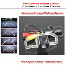 Intelligentized Reversing Camera For Toyota Camry / Daihatsu Altis Rear View Back Up 580 TV Lines Dynamic Guidance Tracks