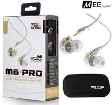 Nouveau écouteur Filaire MEE audio M6 PRO Universel-Fit écouteurs à Isolation Phonique In-Ear Monitors de Musicien casque bon que PB3 PB