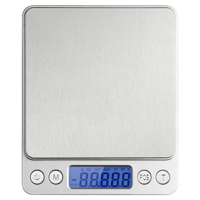3kg/0.1g Household Food Digital Kitchen Scale Electronic Weight Scales Jewelry Weighing Balance for Baking Cooking LCD Backlight