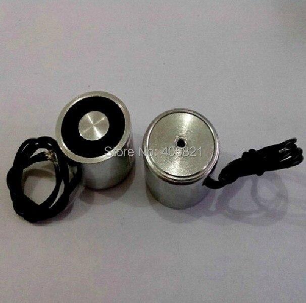 100mm 12V Holding Electromagnet Lift 100kg Solenoid 50mm od 24vdc holding electromagnet lift 50kg solenoid p50 27