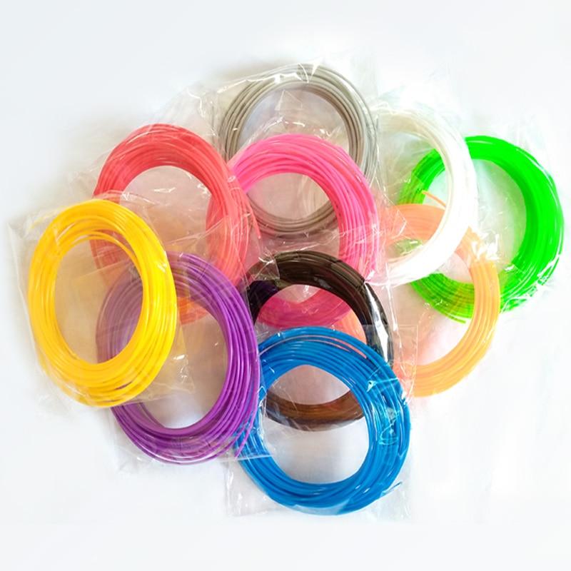 Borracha de Materiais Filamento Multi-cores Pla Filamento Pla