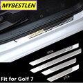 GR-DP7 Фирменная Новинка для VW Volkswagen Golf 7 MK7 2013 2014 2015 аксессуары из нержавеющей стали на порог пластина Тюнинг автомобилей
