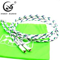 XSSH Audio YIVO Hifi H end 2 RCA to 2 RCA Cable XLO reference 3 Signature edition series R3 RCA Audio Extension Cord Cable Wire