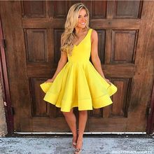 Buy yellow prom dresses ruffles and get free shipping on AliExpress.com adf795a10193