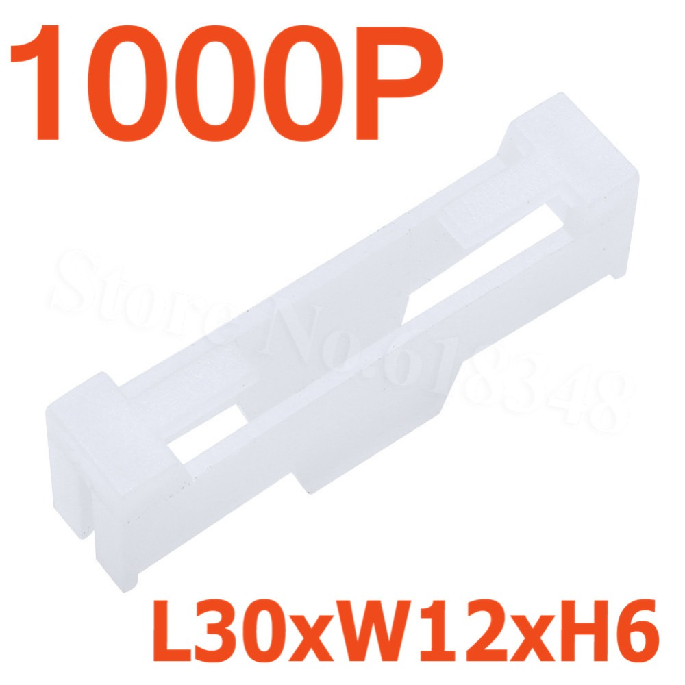 Wholesale 1000pcs lot Nylon Extension Servo Lead Lock L30xW12xH6mm RC Airplane Replacement Parts