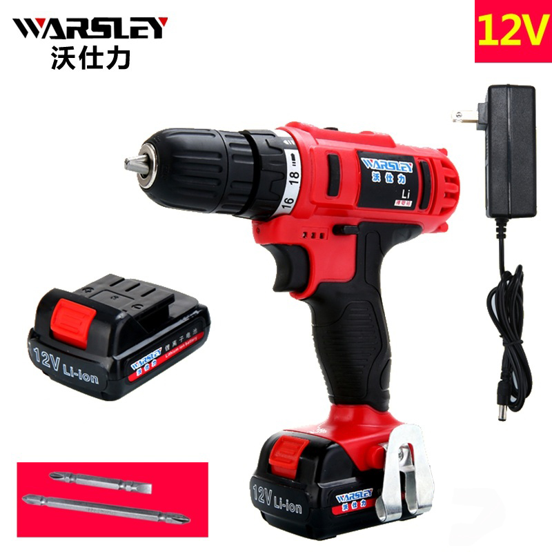 12v Electric Cordless Drill 2 Batteries Screwdriver power tools Like Speed Dremel perceuse sans fil Power