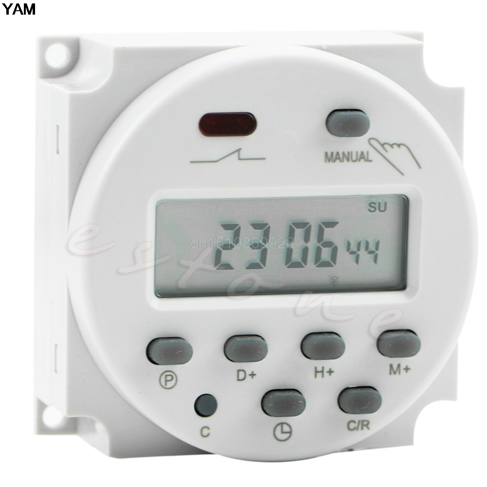 AC 220V Digital LCD Display Power Programmable Timer Time Switch Relay 16A lp116wh2 m116nwr1 ltn116at02 n116bge lb1 b116xw03 v 0 n116bge l41 n116bge lb1 ltn116at04 claa116wa03a b116xw01slim lcd