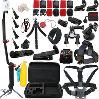 A9 For Gopro accessories set for go pro hero 6 5 4 3+ mount for Xiaomi yi 4k Sony action cam Scam SJ4000 SJ5000 AS300 X1000V