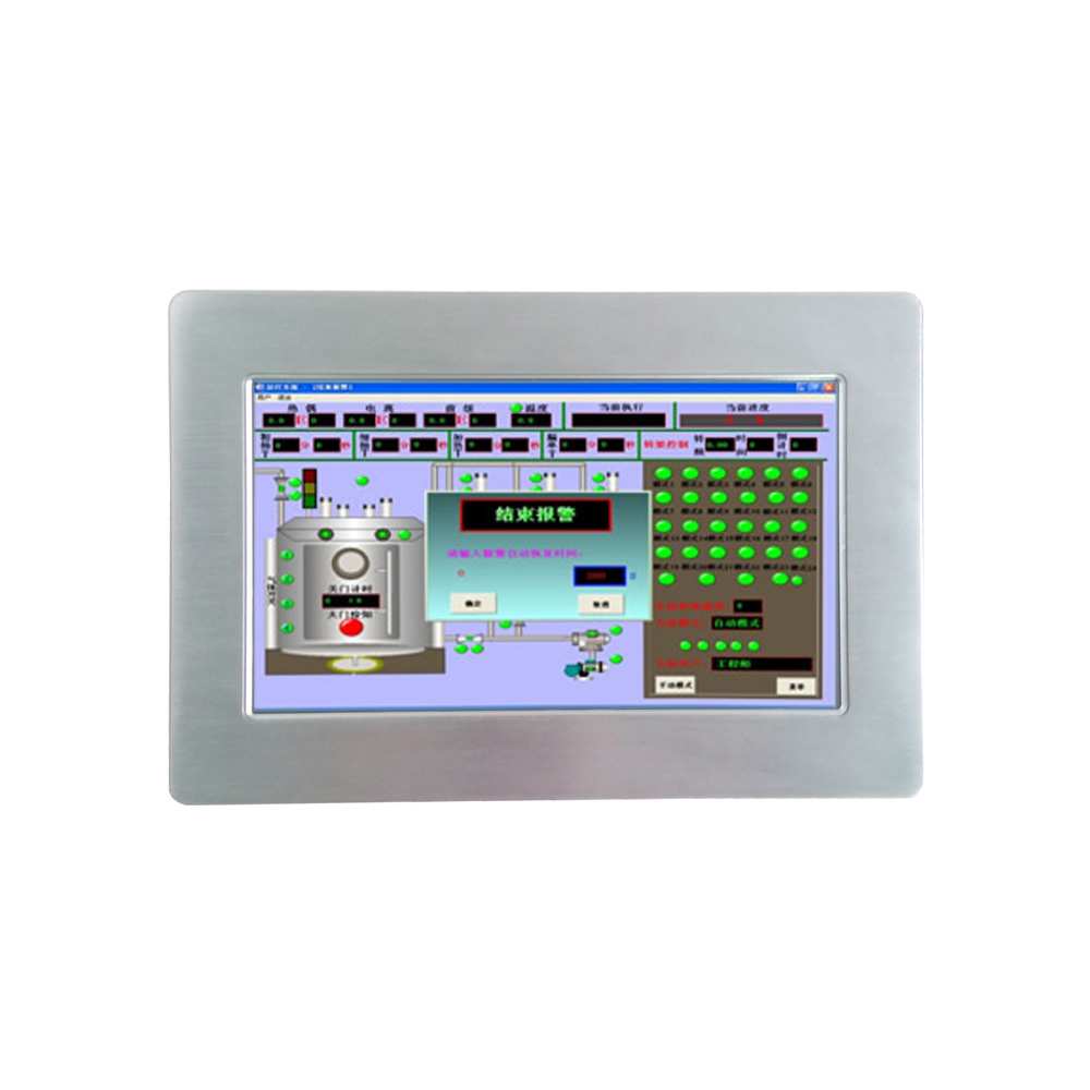 Chinese 10.1 Inch Fanless Industrial All In One PC Industrial Touch Panel PC
