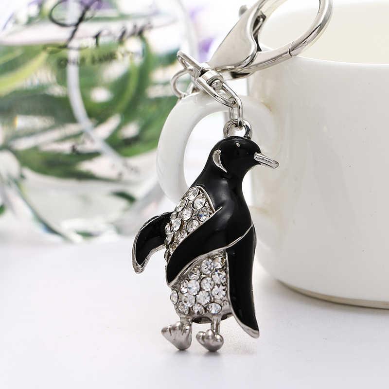 Новый горный хрусталь подвеска брелок пингвин брелок подарок ysk025 брелок кольцо