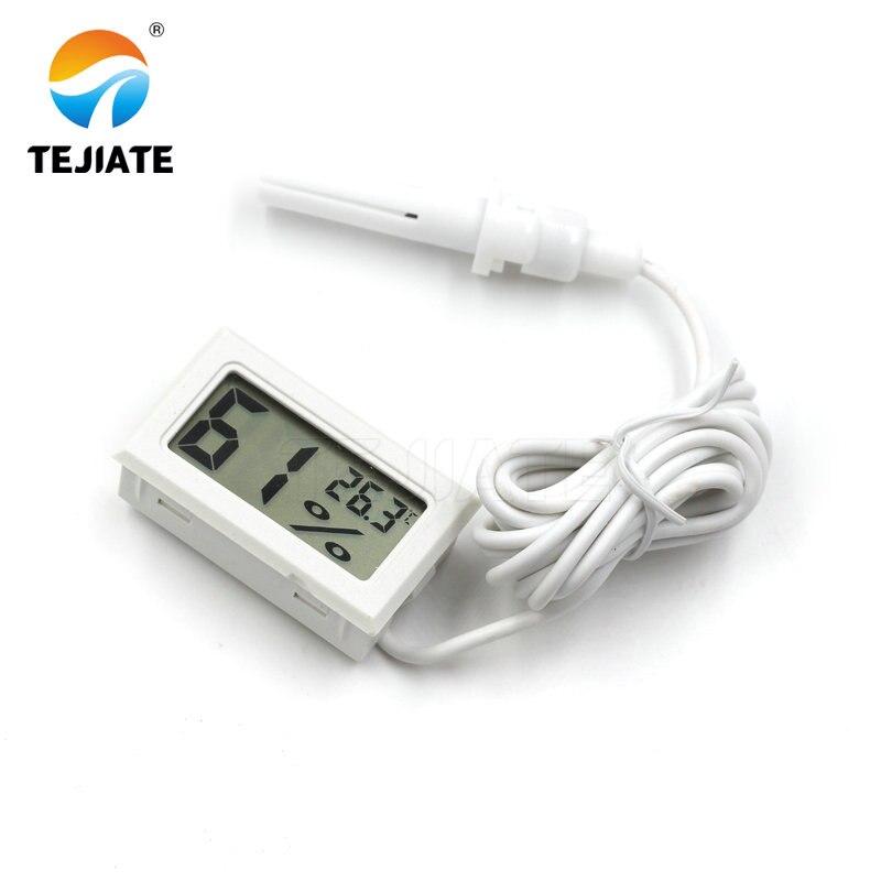 1,5 м Мини Цифровой термометр гигрометр датчик влажности и температуры измеритель температуры тестер температуры