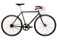 Made In Taiwan CR MO Frame LAPLACE Make By Hand Frame Old Fashon Road Bike City
