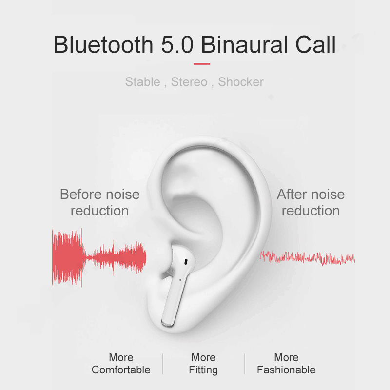 Image 4 - i9 i9S TWS Ture Wireless Earphone Mini Bluetooth 5.0 Stereo Sports Earbud Headset With Mic for IPhone Android Huawei earphone-in Bluetooth Earphones & Headphones from Consumer Electronics