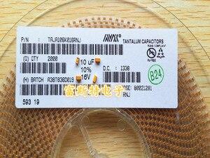 Image 2 - 100 TEILE/LOS SMD tantal kondensatoren 106C 10 UF 16 V C 6032/C Polarität 16V10UF