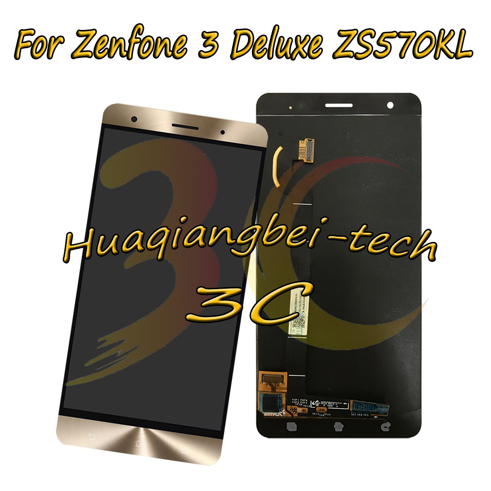 5,7 ''nuevo para Asus Zenfone 3 Deluxe ZS570KL Z016D pantalla LCD completa + montaje digitalizador de pantalla táctil 100% probado-in Teléfono Móvil LCD pantallas from Teléfonos celulares y telecomunicaciones on AliExpress - 11.11_Double 11_Singles' Day 1