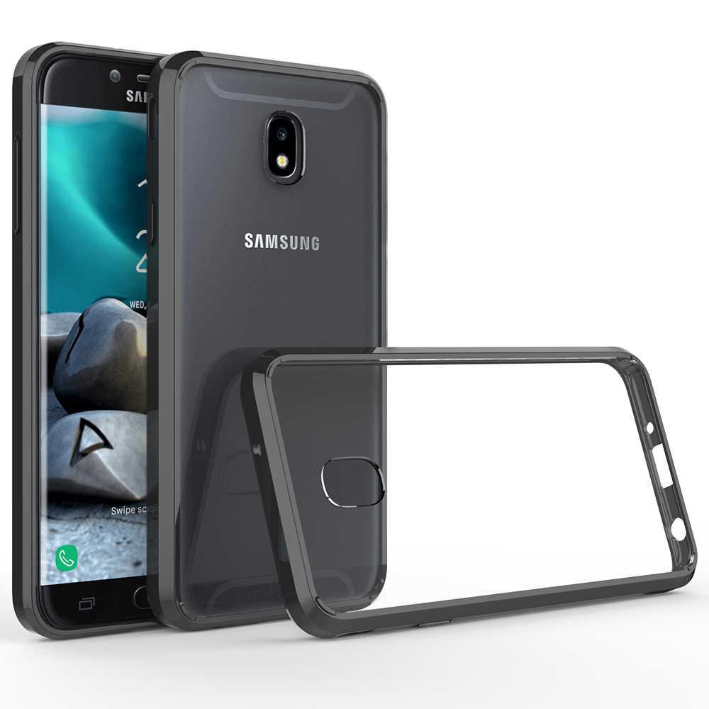 Slim Fit Clear Case Anti Scratch Shockproof Hard Back Cover For Samsung  Galaxy J7 2018/J7 Crown/J7 Star/Aura/Aero/Top/Refine/Eon