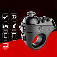 Controlador de dedo inalámbrico Bluetooth, adaptador de mango de juego, Selfies de ratón, interruptor, páginas, función de soporte, sistema de Android IOS