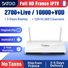 Leadcool IPTV France Italy Arabic Spain IP TV Android 8.1 1G+8G/2G+16G Turkey