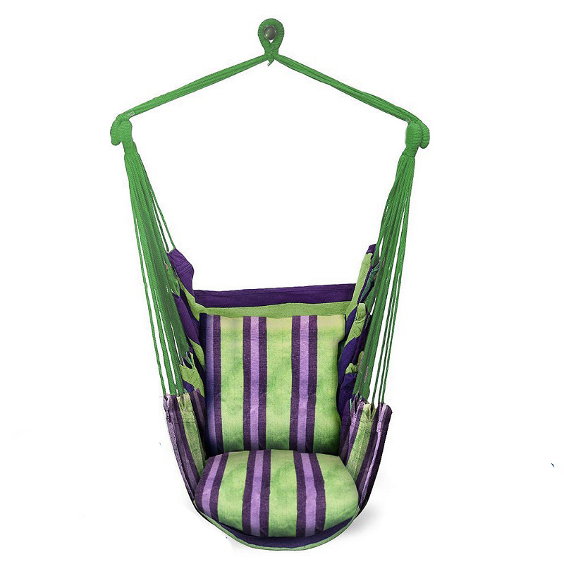 Leisure Hammock Garden Swing Chair Sleeping Bed Portable Double/Single Outdoor Camping Garden Hanging Chair