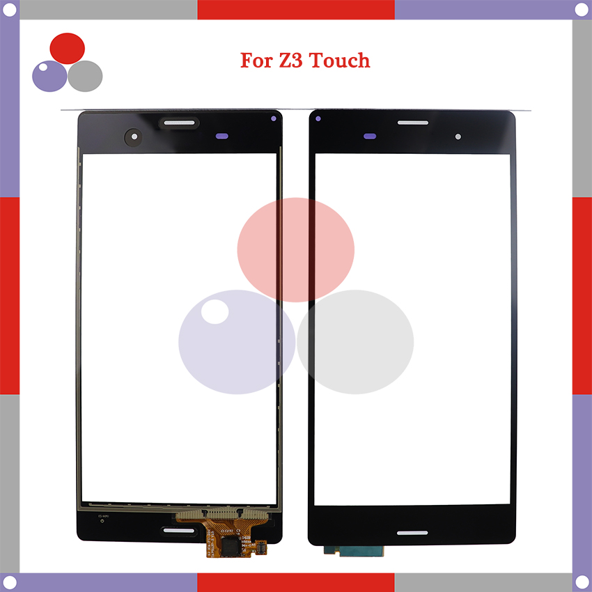 High Quality For Sony Xperia Z3 D6603 D6653 Touch Screen Panel Sensor Digitizer Outer Glass Lens