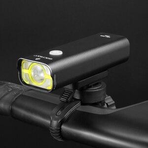 Gaciron Профессиональный велосипед головной свет 800 люменов встроенный 18650 2500 мАч перезаряжаемые аккумуляторы IPX6 Водонепроницаемый велосипед аксессуары