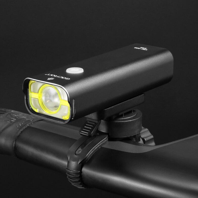 Gaciron professionnel vélo head light 800 lumens intégré 18650 2500 mAh rechargeable batterry IPX6 étanche accessoires vélo - 3