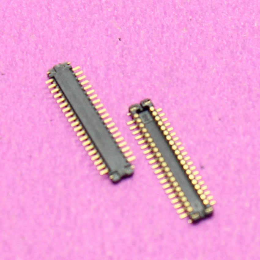 يوشي حار! لسامسونج S4 i9502 i9505 i9500 i9508 شاشة الكريستال السائل موصل FPC على اللوحة الأم