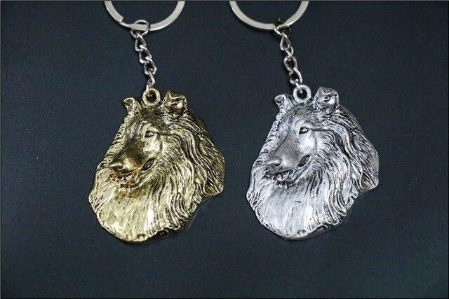 Фото шероховатая собака ожерелье ручной работы брелок рельефная подвеска