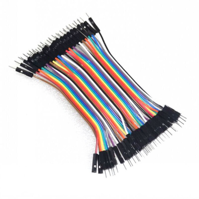 dupont cable jumper wire dupont line male to male,male to female, female to female dupont line 10cm 1P 40P