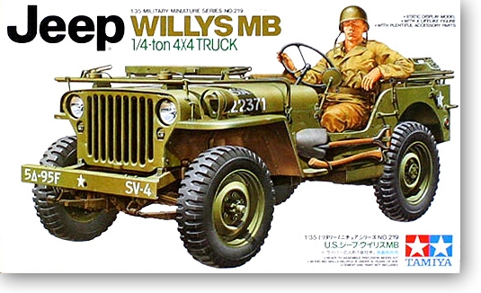 1/35 American Military Power JEEP WILLYS MB Military Model 35219