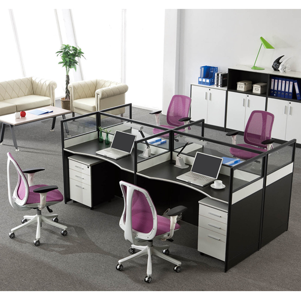 Charmant Office Furniture Screen Desk Partition Wall Office Staff Card Bit Deck  Direct