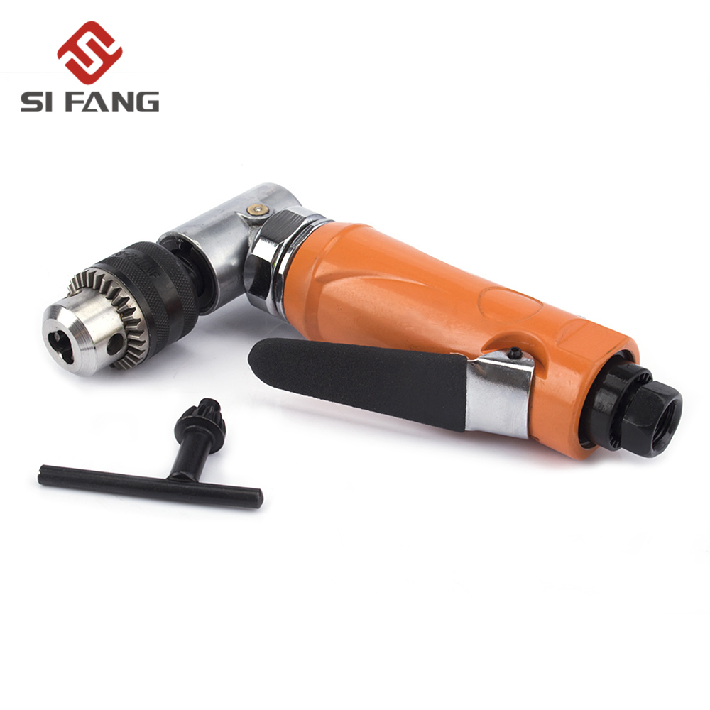 air reversible drills 3/8 inch 10mm chuck 90 degree angel air drill High-speed Cordless Pistol pneumatic tools image