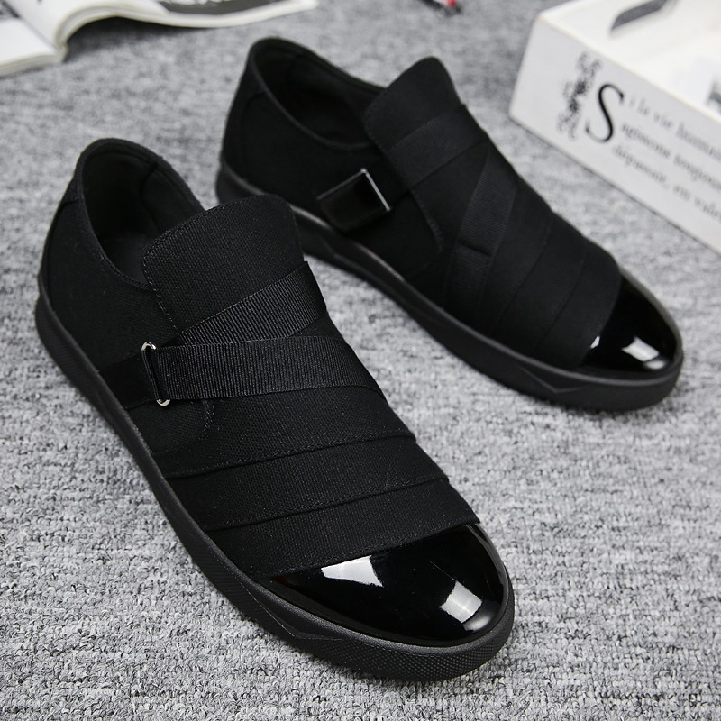 Li-Never 2019 New Spring Men Suede Leather Loafers Driving Shoes Moccasins Summer Fashion Mens Casual Shoes Flat Breathable Lazy Flats,Black,11,Spain