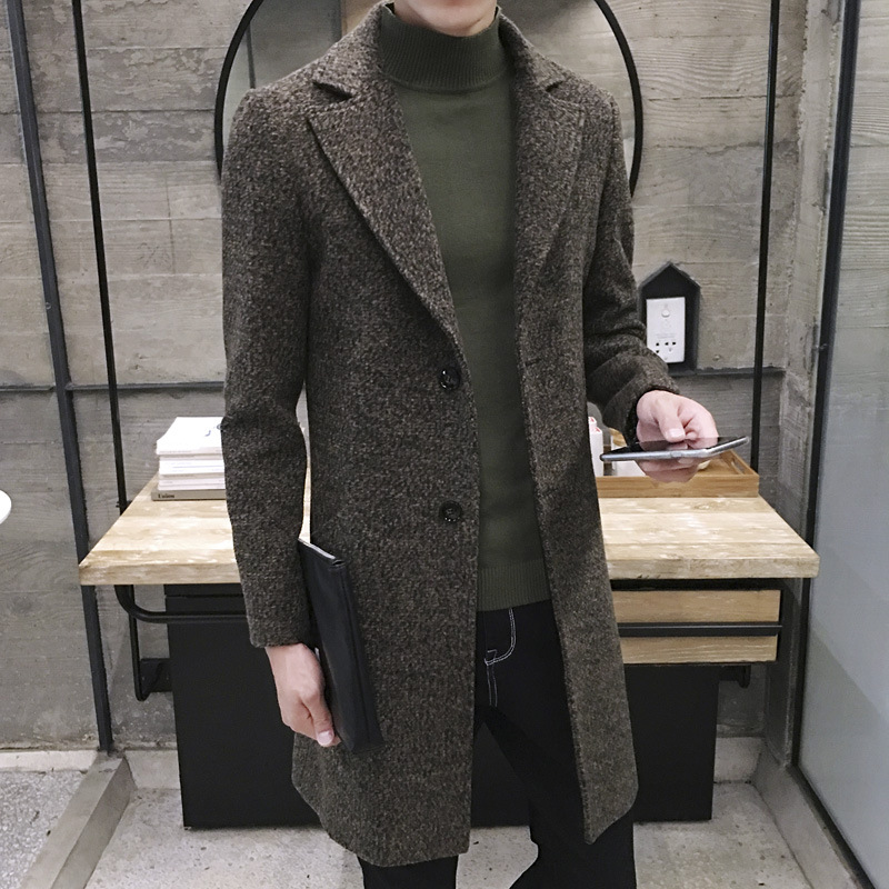 Compare Prices on Men Long Tweed Coat- Online Shopping/Buy Low ...