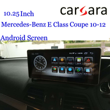 Android W207 A207 C207 GPS Merce des Display Car Multifunctional Infotainment Vehicle Navi For Ben z E Class Coupe 10-12 Screen