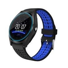 RsFow V9 Com Câmera Do Bluetooth Relógio Inteligente Smartwatch Pedômetro Saúde Esporte Relógio Horas Homens Mulheres Smartwatch Para Android IOS