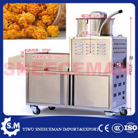 gas and electric popcorn making machine for sale