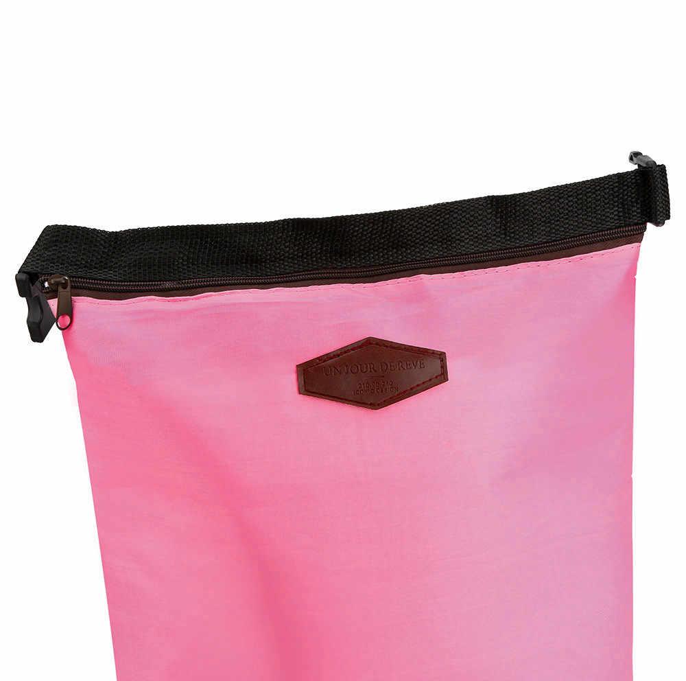 2018 جديد وصول المحمولة الغداء حقيبة حزمة للماء الحرارية برودة معزول الغداء مربع المحمولة حمل تخزين الغذاء نزهة أكياس
