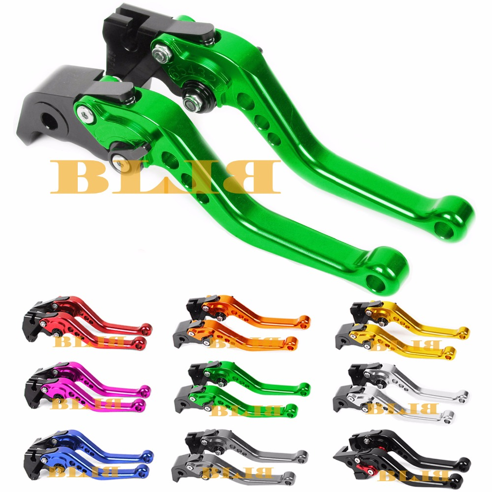 For Kawasaki NINJA 250R 300R Z300 Z250 Z250SL VERSYS 300X Z 125 CNC Long & Short Brake Clutch Levers Motorcycle Shortly Lever