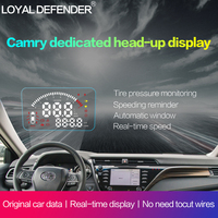 2019 New OBD2 Car HUD with Full Functions Head Up Display For Toyota Camry Left hand Drive