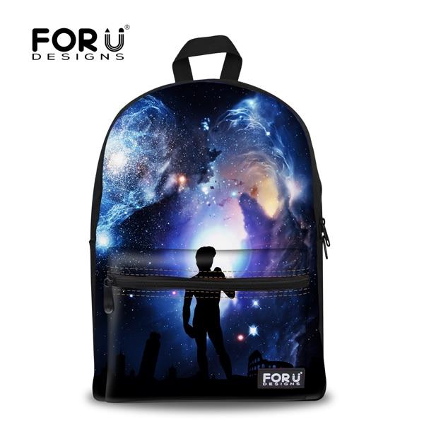 Hot Sale Girls Travel Bags Scenery Status Print Backpack For Kids Children  School Backpacks Universe Space Star Women Casual Bag 2c1612d945e0b