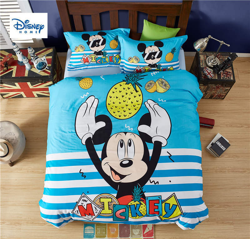 3d Mickey Mouse bedding set twin size comforter duvet covers for kids bedroom decor queen bed sheets cotton bedspread boys room3d Mickey Mouse bedding set twin size comforter duvet covers for kids bedroom decor queen bed sheets cotton bedspread boys room