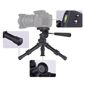 Image 3 - XILETU XB 2 Panoramic Portable Mini Tabletop Tripod For Digital Camera With Three dimensional Tripod Head