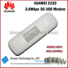Wholesale Original Unlock HSDPA 7.2Mbps HUAWEI E153 3G USB Modem With Sim Card Slot