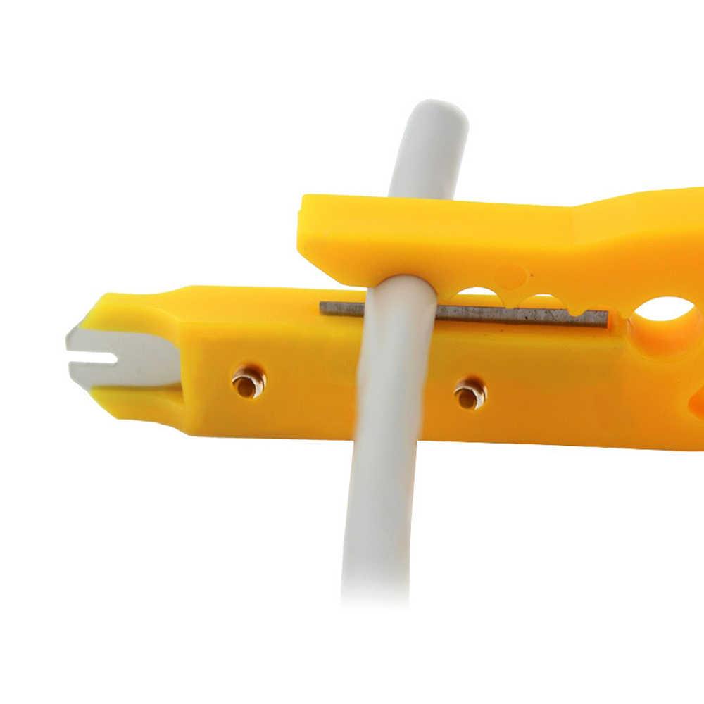 Мини Портативный Клещи для зачистки проводов Ножи фторопластовая Трубка Резак для 3d принтера teflonto трубка hotend i3 mk8 Экструдером набор инструментов