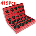 Universal Car 419Pcs/Set 32 Sizes Rubber O Ring Assortment High Temperature Washer Seals For Car Electric